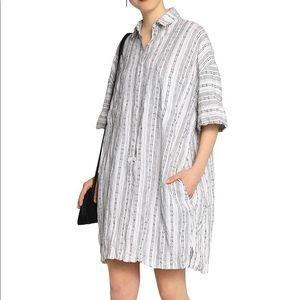 Derek Lam Linen Shirt Dress